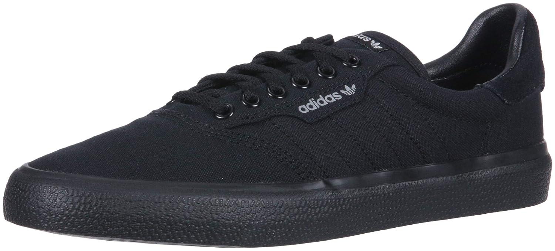 Core Black Core Black Grey adidas Originals Unisex 3MC Vulc Fashion Sneakers,