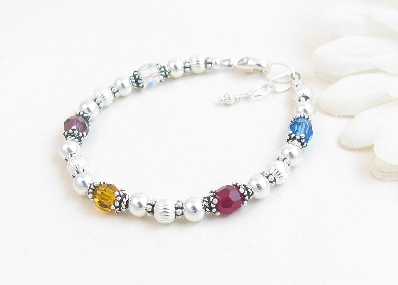 Mimi Birthstone Bracelet Grandma Jewelry