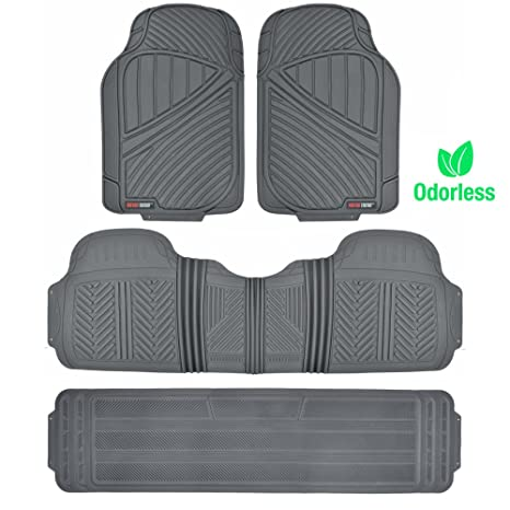 Suv Floor Mats >> Amazon Com Motor Trend Mt 773 801 Bg Flextough Durable And