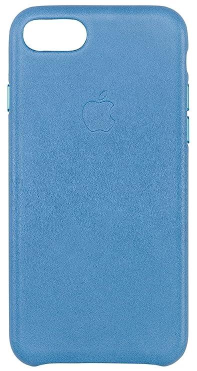 Custodia Apple in Pelle per iPhone 7 - Azzurro Mare