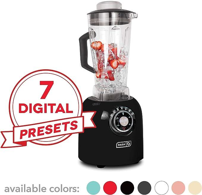 Dash - Licuadora Digital, Premium, Chef Serie – DPB500RD: Amazon ...