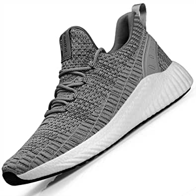 FEETCITY Mens Women Fashion Sneakerss Non Slip Sports Shoes Athletic Walking Running Shoes Casual Sneakerss