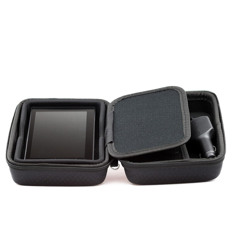 Noir /Étui de transport Pour Garmin Camper 660LMT-D 770LMT-D Avec compartiment pour accessoires
