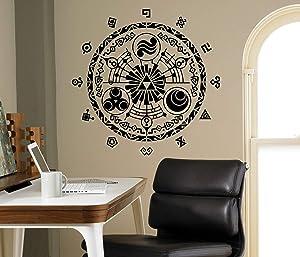 Art Vinyl Decals MBV Wall Sticker-Legend of Zelda Gate of Time Wall Sticker Bedroom Decor Kids Children Wall Design-bGDd206
