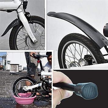 SMILEQ Accesorios de Bicicleta Delantero Trasero Guardabarros ...