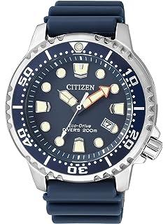 Citizen – Reloj de Pulsera para Hombre XL Promaster Marine analógico de Cuarzo plástico bn0151 –