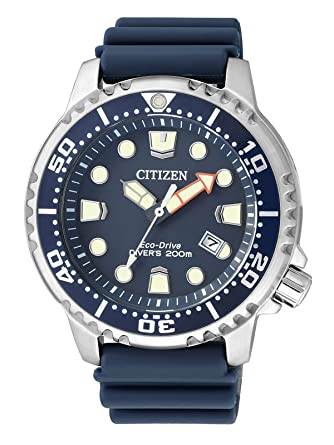 Amazon.com: Citizen Mens Analogue Quartz Watch with Plastic Strap BN0151-17L: Citizen: Watches