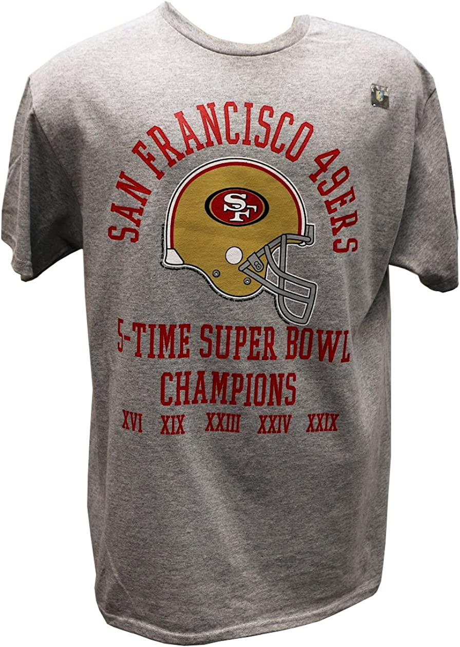 Boys San Francisco 49ers Red Gold Team Logo T-Shirt