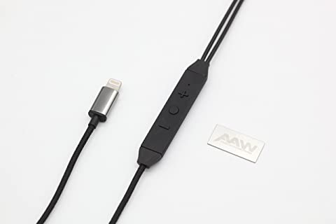 AAW CAPRI1.2 LIGHTNING EARPHONE CABLE 【DAC搭載ハイレゾ対応Lightningケーブル】 (2pin)