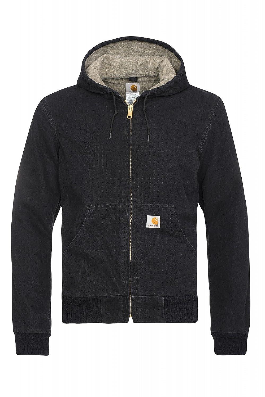 Carhartt EJ004 Black Sherpa Lined Active Jacket