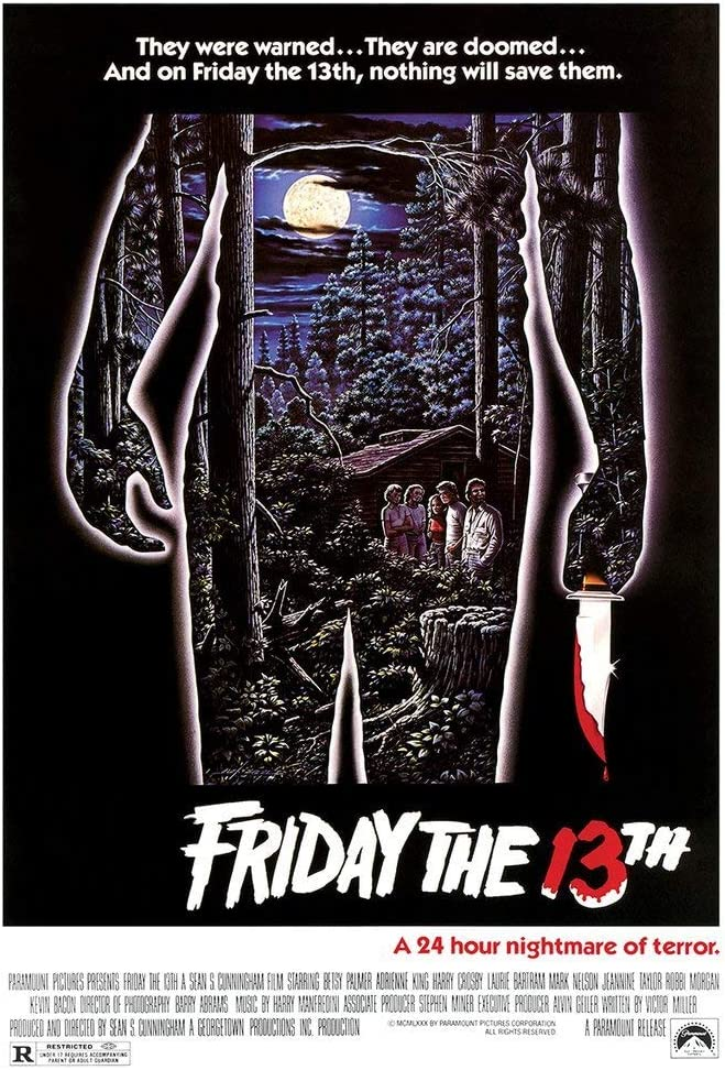 Kopoo Friday The 13th Movie Poster (1980), 24