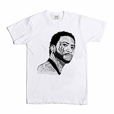 f25bafe77b Babes & Gents Gucci Mane White Tee (Unisex) | Amazon.com