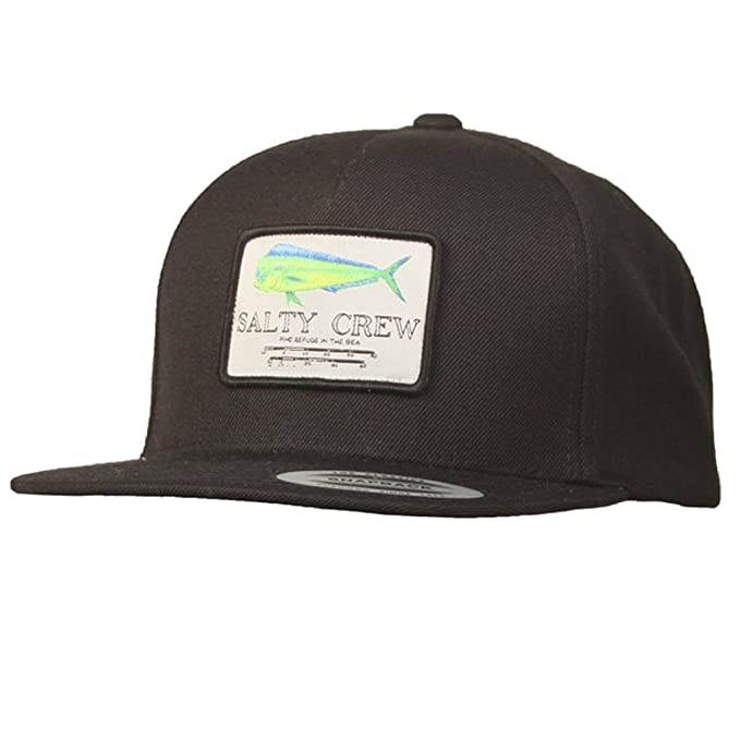 finest selection 872f8 0f529 Salty Crew Men s Mahi Mount Hat, Black, One Size