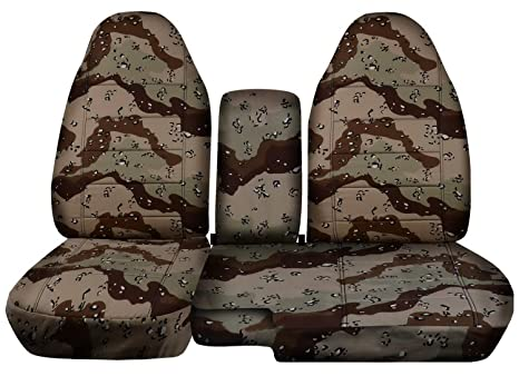 Swell Totally Covers Fits 2004 2012 Ford Ranger Mazda B Series Camo Truck Seat Covers 60 40 Split Bench W Center Console Armrest Desert Storm Camouflage Dailytribune Chair Design For Home Dailytribuneorg