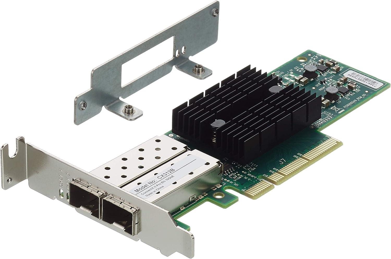 Qsan 10GbE SFP + DualPort HBA para xcubenas Tower Series