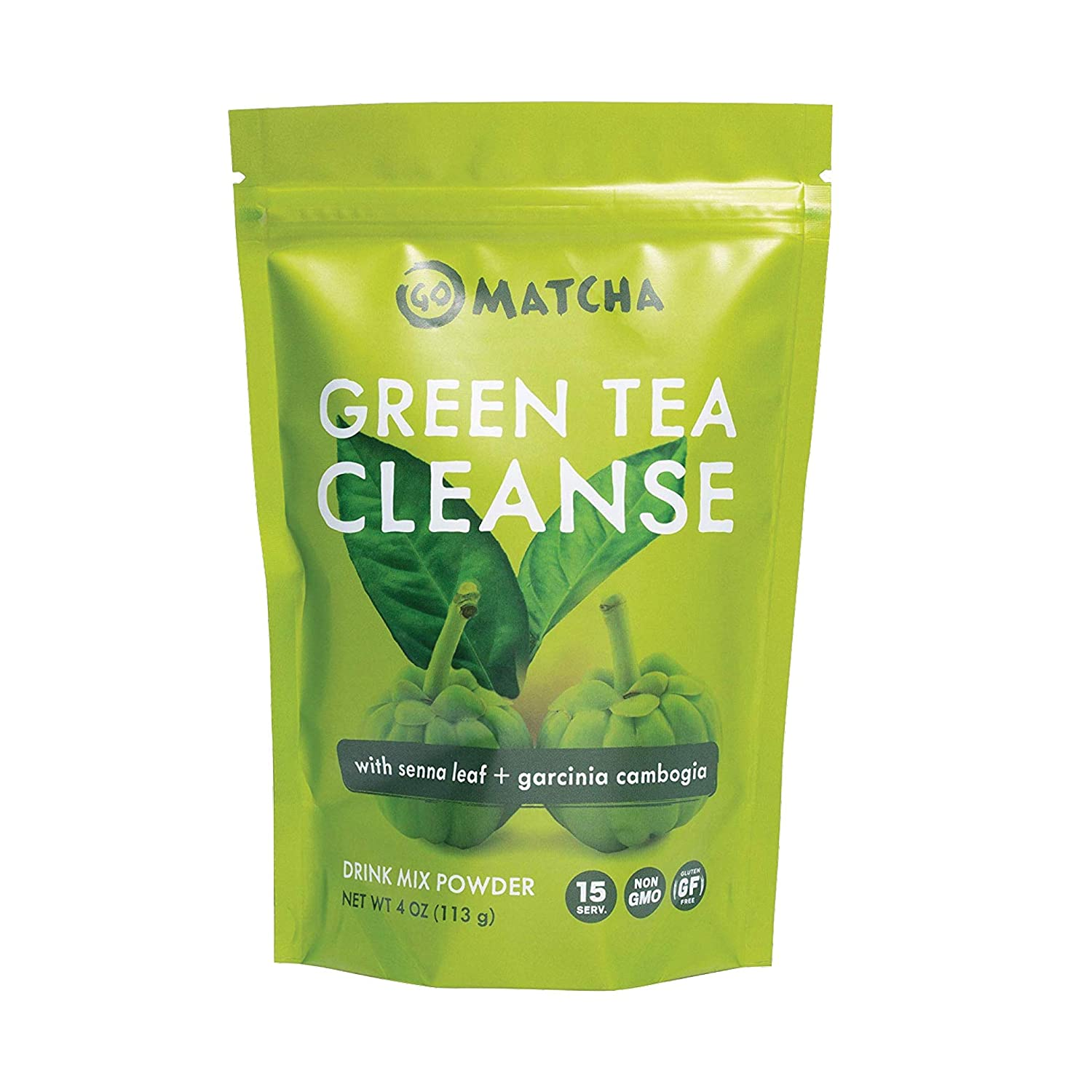 Amazon Com 360 Nutrition Green Tea Detox Cleanse 15 Servings Weight Loss Senna Leaf And Garcinia Cambogia Powder Grocery Gourmet Food