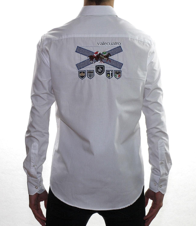Valecuatro Camisa H Cruz, Blanco, S para Hombre: Amazon.es: Ropa y accesorios