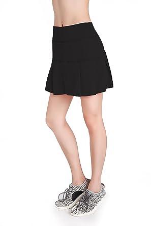 ca00c577f02 Amazon.com  Annjoli Womens Running Skorts Golf Tennis Workout Skirt ...