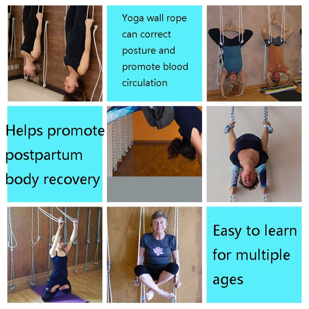 Cuerdas para colgar en la pared para yoga Iyengar para ...