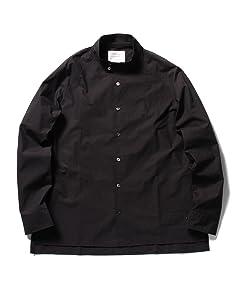 Dog Ear Collar Shirt Blouson 51-18-0232-012: Navy