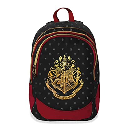 Mochila con Tres Cremalleras de Harry Potter 38757: Amazon ...