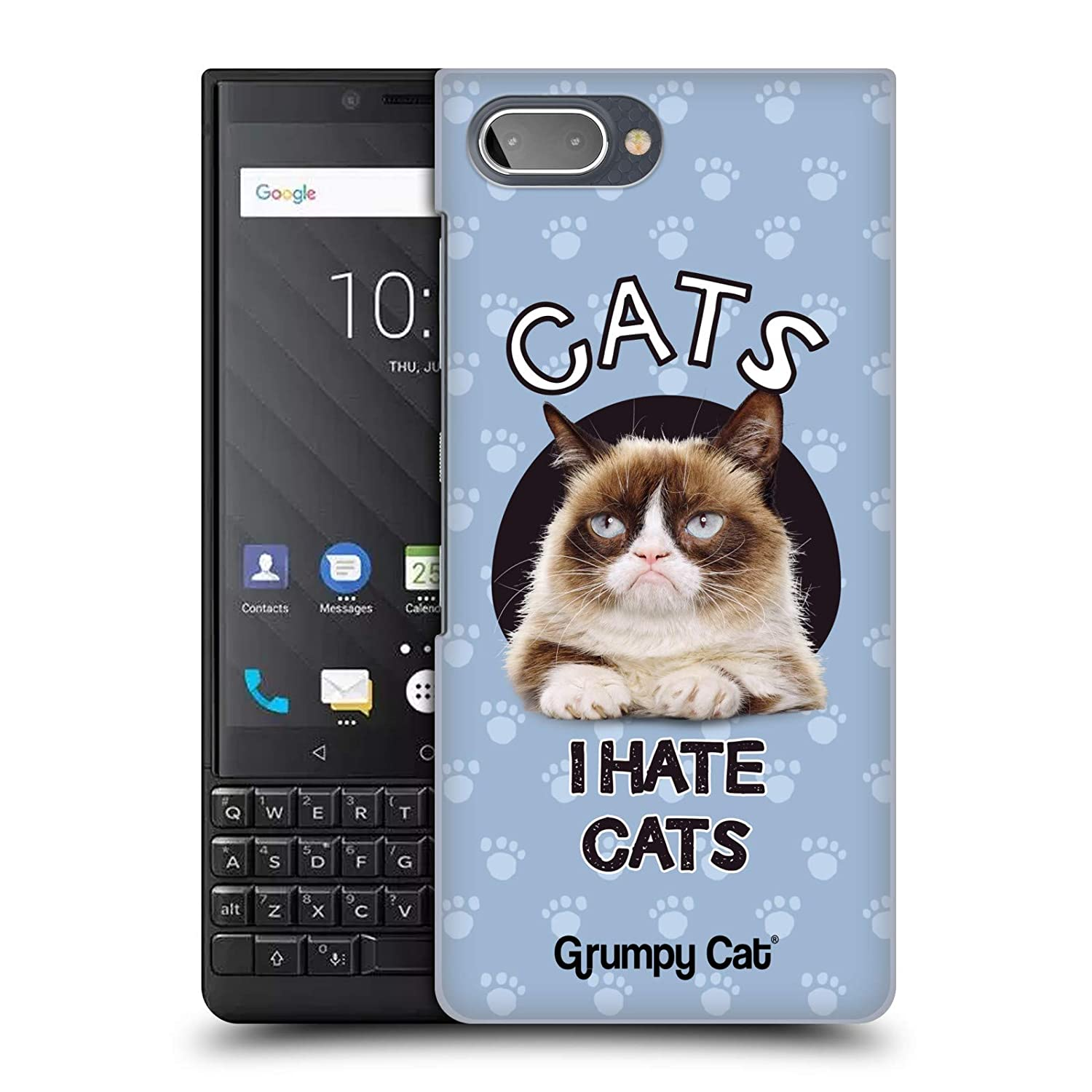 Amazon.com: Official Grumpy Cat Hate Quotes Hard Back Case ...