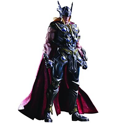 Square Enix Marvel Universe: Variant Play Arts Kai Thor Action Figure: Toys & Games