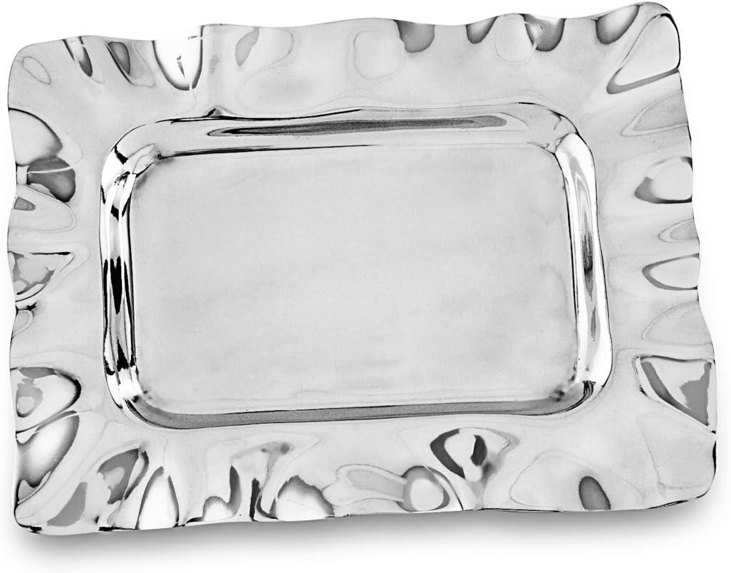 Beatriz Ball G&G Vento Petit - Bandeja (Aluminio, 20,32 x 20,32 x 6,35 cm), Color Plateado: Amazon.es: Hogar