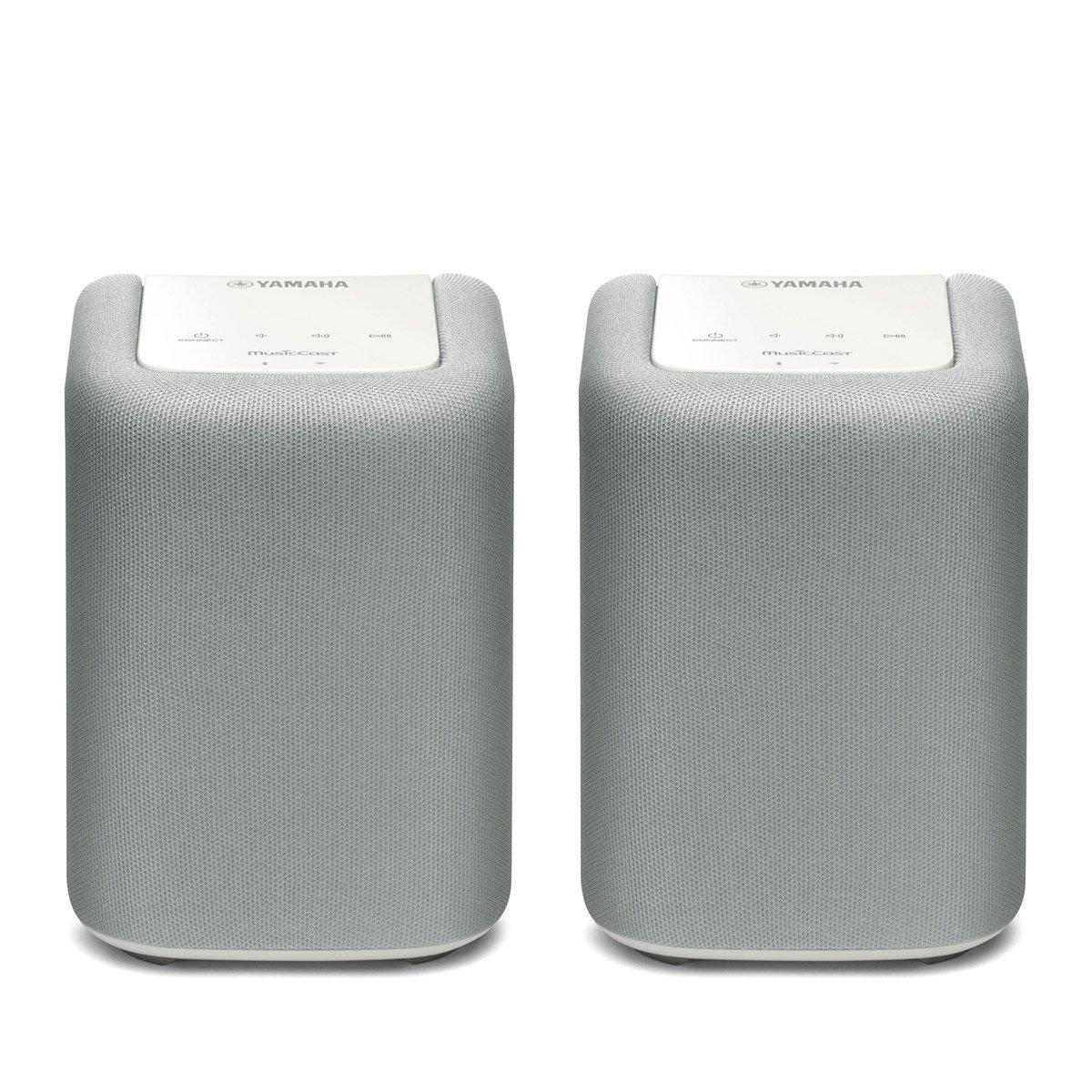 Yamaha WX-010 MusicCast Wireless Speaker - Pair (White)