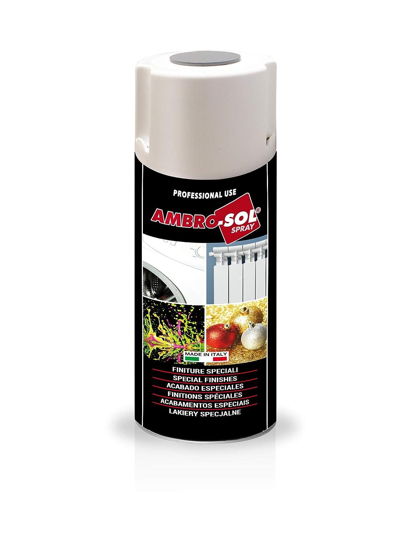 Ambro-Sol V400FLUOR1 Smalto Finiture Speciali Fluorescenti, Arancio, 400 ml