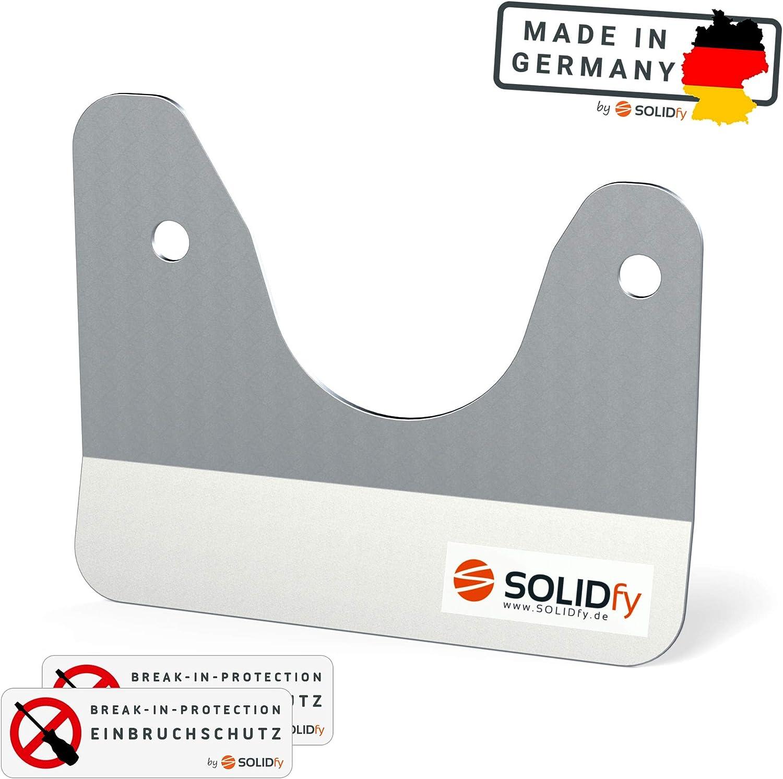 SOLIDfy/® Protection anti-effraction pour porte arri/ère Prick Stop Fusible en acier inoxydable pour Ducato Boxer X250 X290 Jumper
