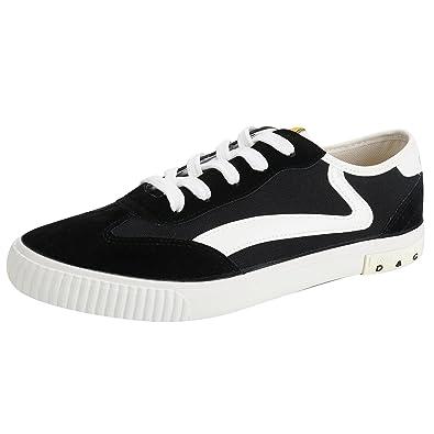 Kentti Low Top, Zapatillas de Lona con Cordones Hombre Negro 40 EU / 7 UK: Amazon.es: Zapatos y complementos