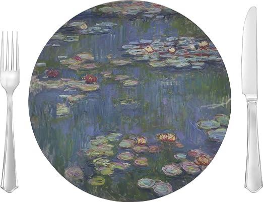 Plato llano de nenúfares de Claude Monet: Amazon.es: Hogar