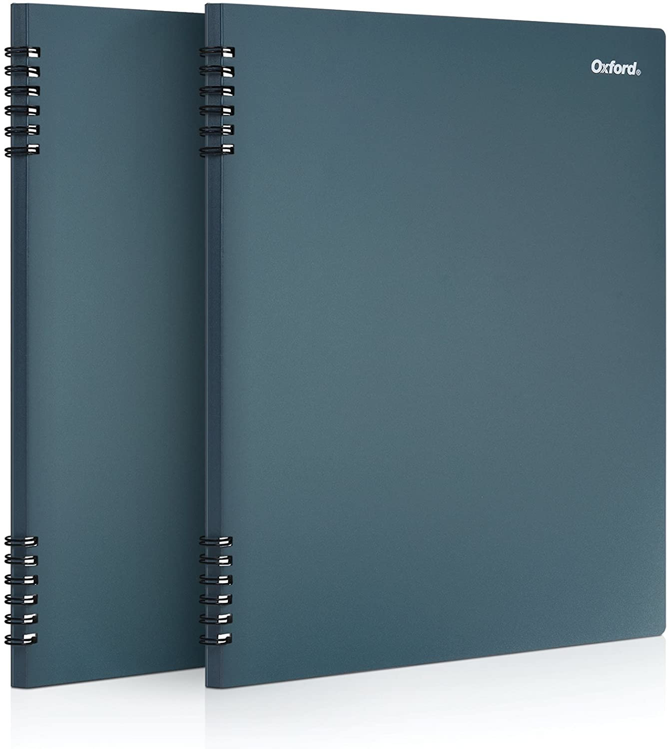 "Oxford Stone Paper Notebook, 8-1/2"" x 11"", Blue Cover, 60 Sheets, 2 Pack (161646)"