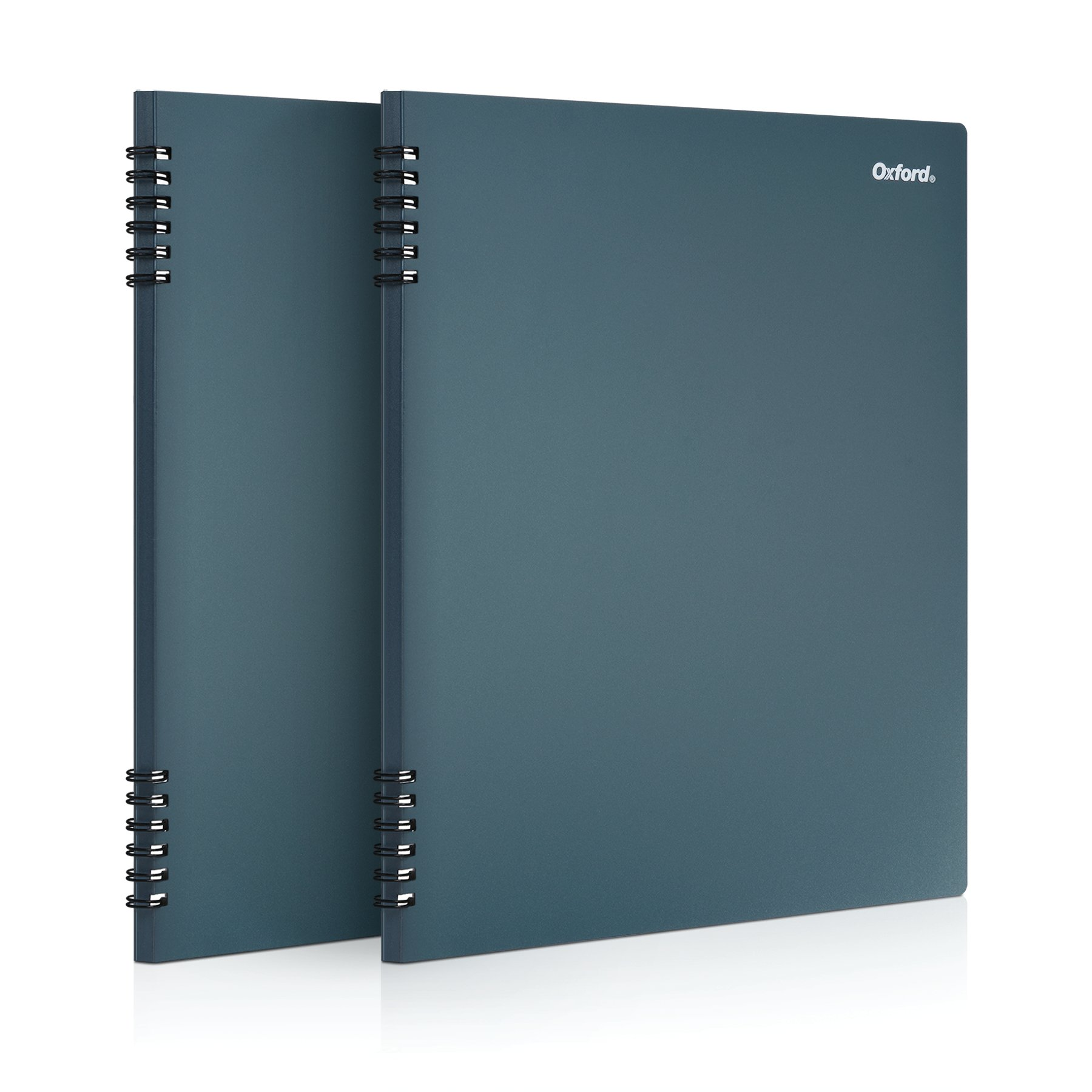 Oxford Stone Paper Notebook, 8-1/2'' x 11'', Blue Cover, 60 Sheets, 2 Pack (161646) by Oxford