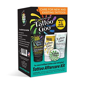 Amazon Com Tattoo Goo Tattoo Aftercare Kit Health Personal Care