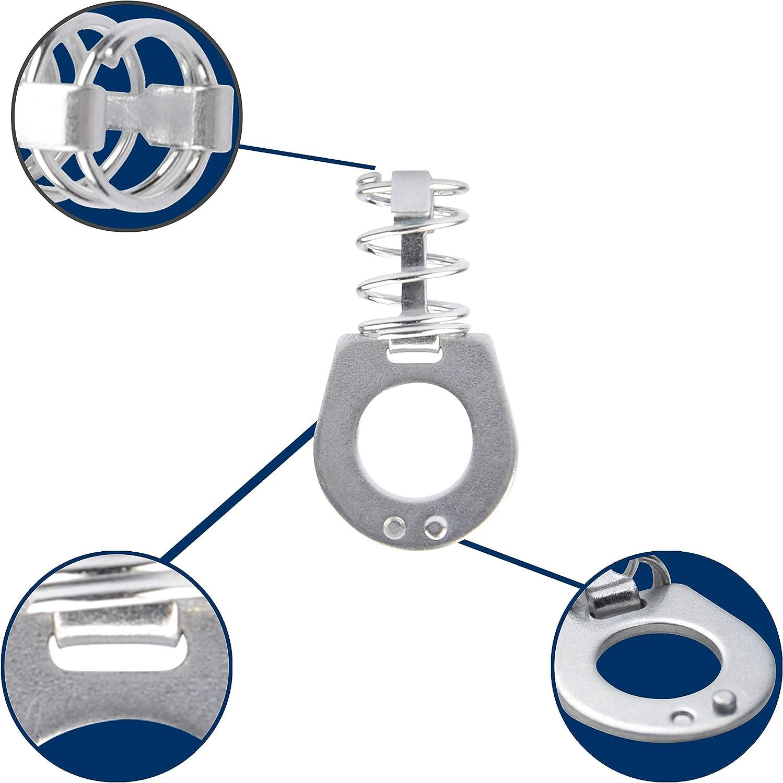 Leisure Coachworks Steel Fastener RV Water Heater Latch Twist Cam Lock 2-Pack