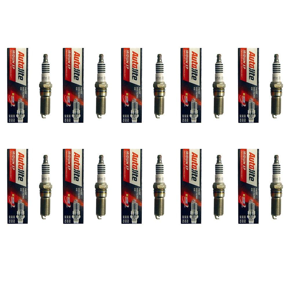 Amazon.com: New AutoLite Spark Plug XP5263 Set of 4 For Chevrolet Chrysler and Dodge: Automotive