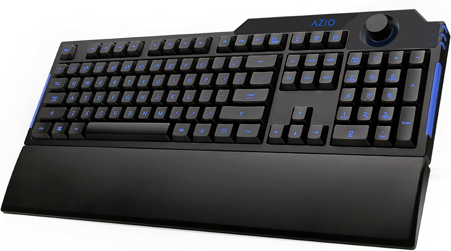 Azio Levetron L70 LED Backlit Gaming Keyboard KB501 Black