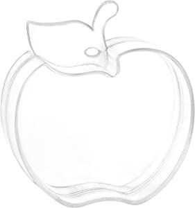 Apple Shaped Acrylic Candy Boxes - 12 Pack - 2.95