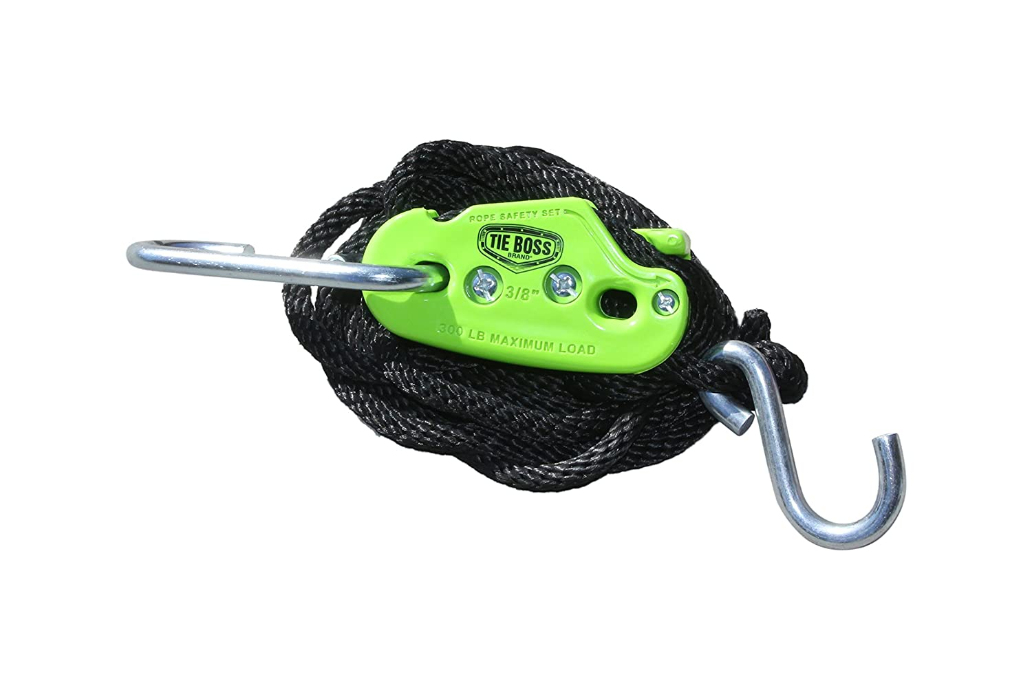 3//8-Inch Hydrofarm Inc Tie Boss Pulley Lighting Accessories with 10-Feet Rope TB380210