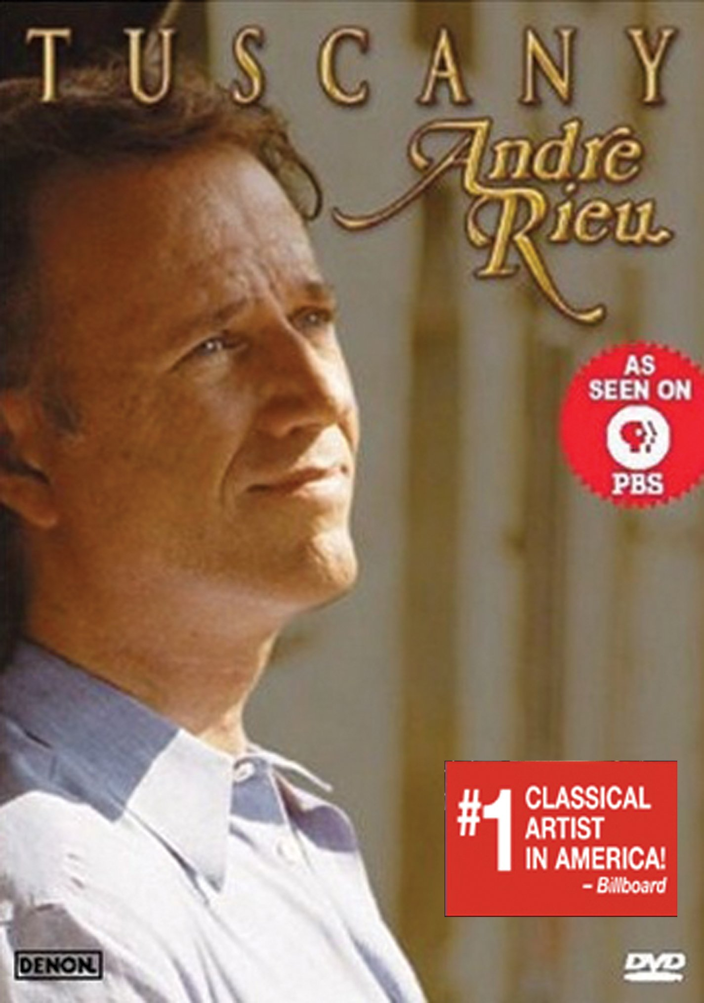 DVD : Andre Rieu - Andre Rieu: Tuscany (DVD)