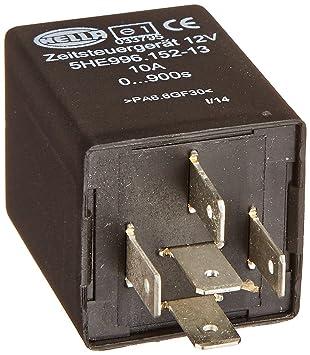 Amazoncom HELLA 996152131 12 Volt 5 Pin 0900s Delay Off Time