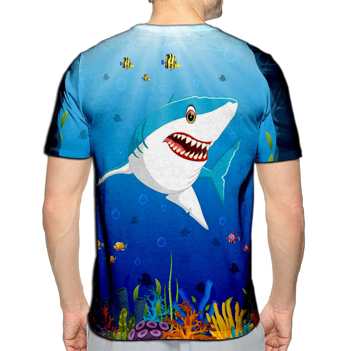 3D Printed T-Shirts Night Party Short Sleeve Tops Tees