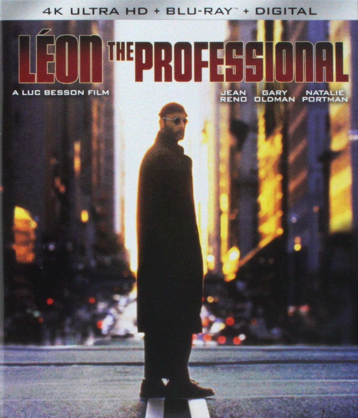 4K Blu-ray : Leon: The Professional (With Blu-Ray, Steelbook, 4K Mastering, Ultraviolet Digital Copy, 2 Pack)