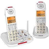 VTech CLS17451 Careline Twin Dect6.0 Cordless Phone White