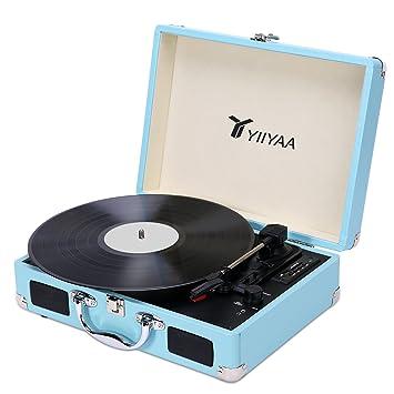 Amazon | YIIYAA レコードプレー...