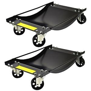 Chariots de roues paire Skate Location Van 450kg Chariot de positionnement Jack Récupération TE429