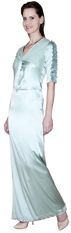 Modische High Fashion Seidenkleid, Seidenkleid, Kleid, Made in Germany, Handgefertigt, Einzelstück, Designermode, Musterkleid