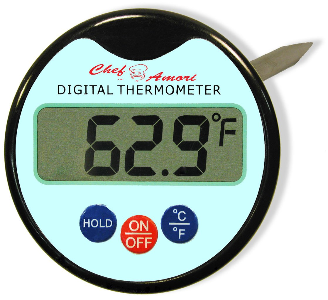 Amazon.com: Digital Meat Thermometer with Probe for Steak Turkey ...